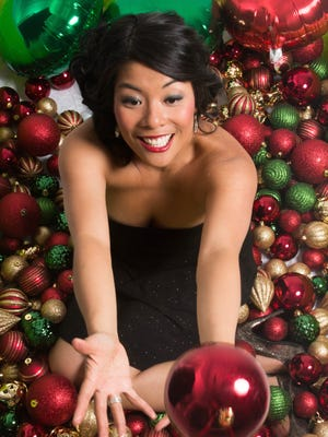 """Elizabeth Chan recently released """"Christmas in the City,"""" her third EP of Christmas songs in as many years."""