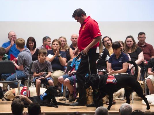Service Dog Graduation