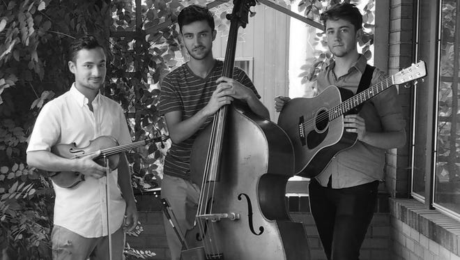 The Freewheel Trio, a contemporary string band based out of Denver, Colo., draws from bluegrass, old-time, classical and American jazz traditions. They will play an 8 p.m. Wednesday show at the Carriage House Café.