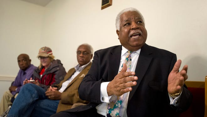 Former state senator Roscoe Dixon, shown in 2015, was convicted in 2006 on bribery and extortion charges after he was caught accepting $9,500 to help pass legislation. He was sentenced to five years in federal prison. He is now a community relations specialist with the Cocaine Alcohol Awareness Program.