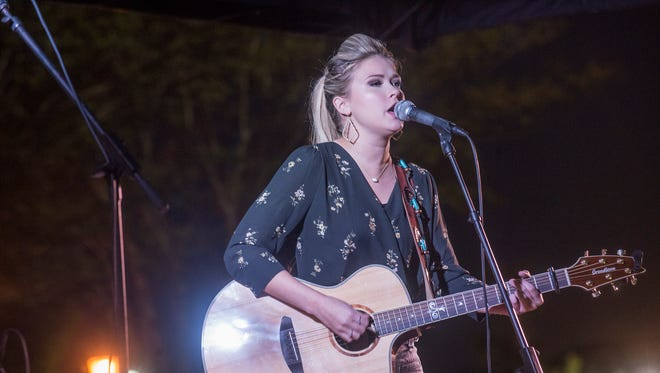 Charity Bowden took the win as finalists competed in the 2017 NASH Next competition presented by WLWI-92 on Thursday, Sept. 7, 2017, at The Shoppes at EastChase.