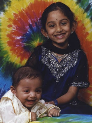 Ria Datla has turned her June 21 dance recital into a fundraiser in memory of her brother, Maanas, seen here with her, who died in 2007 from Sandhoff disease.