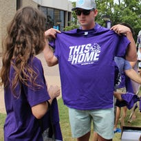 Dressed to grill: ACU's Wildcat Country warms up football fans