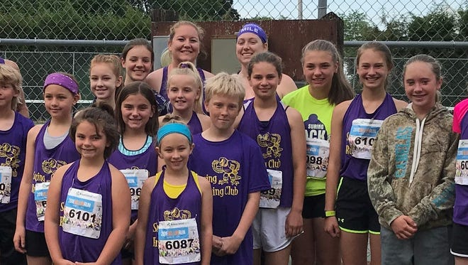The Suring Kids Running Group competed in the Bellin 10K Run on June 9.
