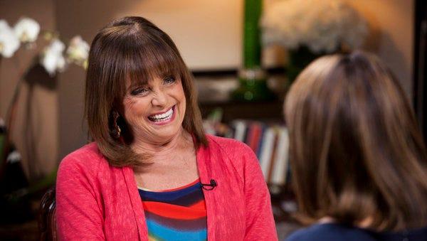 Valerie Harper talks to Savannah Guthrie in March 2013.