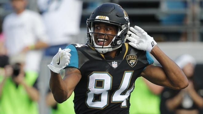 Jacksonville Jaguars wide receiver Keelan Cole has taken advantage of increased playing time due to injuries. He had over 100 yards Sunday.