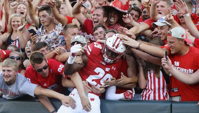 The Badgers season got off to a great start with an upset victory over LSU at Lambeau Field in 2016.