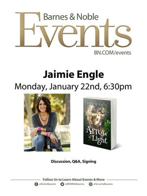 Flyer for the Barnes & Noble book signing.