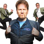 The Dan Band, which revolves around actor, comedian and sometime musician Dan Finnerty, will appear at the Tropicana Showroom on Saturday.