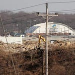 Newark says the 248-megawatt power plant proposed as part of The Data Centers LLC project would be permitted at the former Chrysler site (seen here Dec. 21, 2013), although with several conditions.