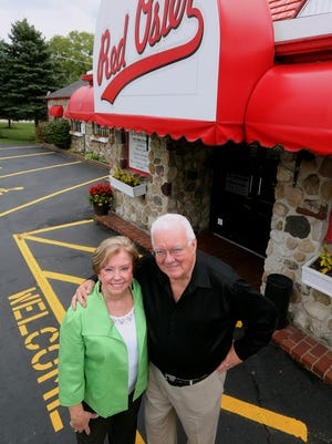 Bob and Noreen Moore are looking to sell the Red Osier Restaurant  in Stafford and retire.