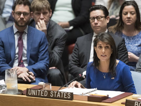 American Ambassador to the United Nations Nikki Haley