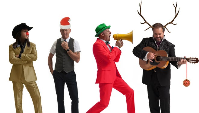 """The Mavericks bring their """"Sleigh Bells Ring Out"""" holiday show to The Grand on Dec. 10."""