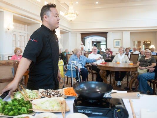 Celebrity chef Jet Tila