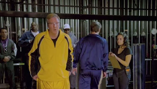 Iowa basketball coach Fran McCaffery said Wednesday that it took 15 takes to get his appearance the way the directors wanted in a commercial for the Infiniti Coaches' Charity Challenge, which also featured Iowa State coach Fred Hoiberg. He said his line was also changed several times.