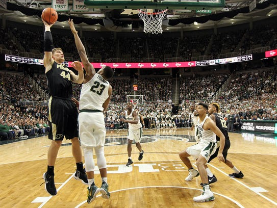 Michigan State Spartans forward Xavier Tillman (23)