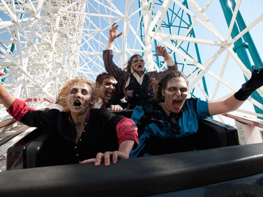 Fright Fest at Six Flags Magic Mountain in Valencia,