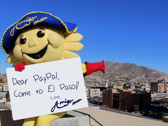 El Paso's Amigo Man is part of a social media campaign