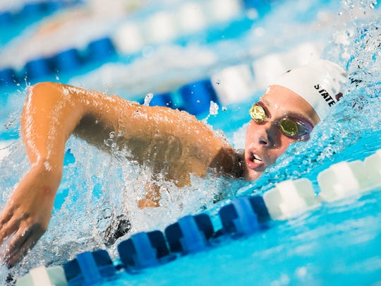 Chiles senior Stephanie Holmes, an FSU commit, finished second in the 200 freestyle and fifth in the 500 free during Saturday's Class 3A state meet.
