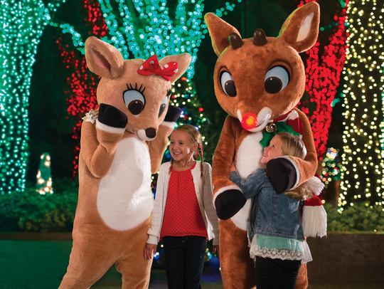 Dine with Rudolph! Guests can book an all-new holiday