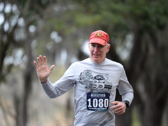 Over 1000 runners and numerous spectators gathered