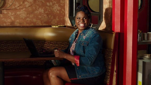 Leslie Jones in the 'Ghostbusters' trailer.