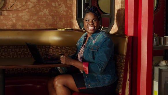 Leslie Jones in the 'Ghostbusters' trailer.