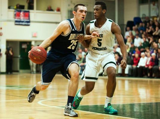 Burlington vs. Rice Boys Basketball 02/17/15