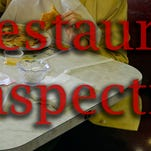 FOOD INSPECTIONS: 3 out of compliance