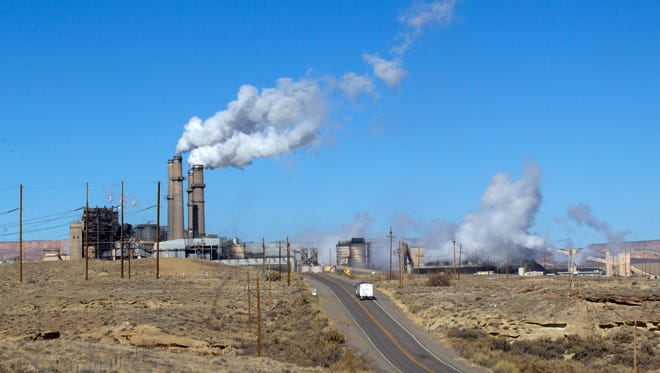 """A manager said two coal-fired units at the San Juan Generating Station in Waterflow were shut down recently due to a """"purely economic decision (that) has less to do with the Clean Power Plan."""""""