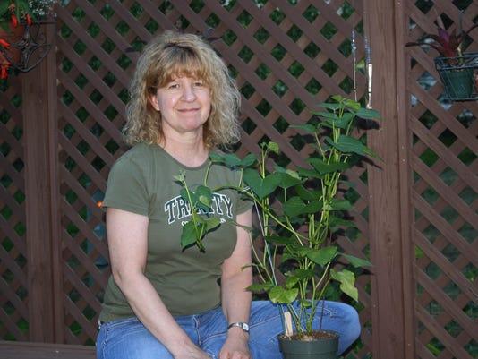 Juli Jeffery and scrap plant
