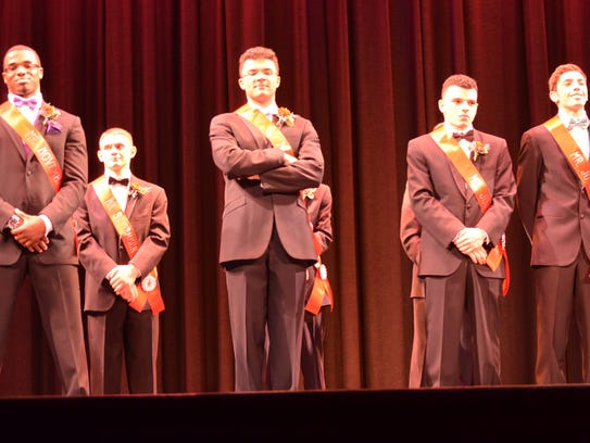 The Top 5 in the 2015 Mr Vineland pageant wait to hear