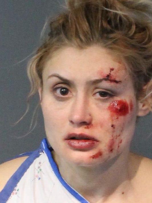 Virginia Couch mug shot photo after Reno crash