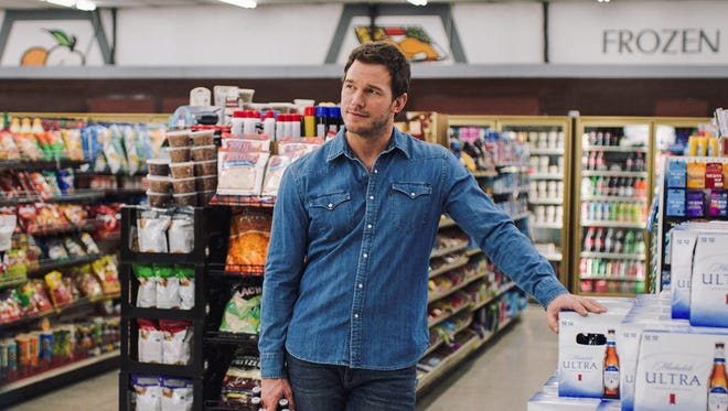 """Actor Chris Pratt appears in a scene from a Michelob Ultra commercial. Pratt, the star of the """"Jurassic World"""" and """"Guardians of the Galaxy"""" film franchises, will make his advertising debut Super Bowl Sunday in a pair of commercials for the light beer."""