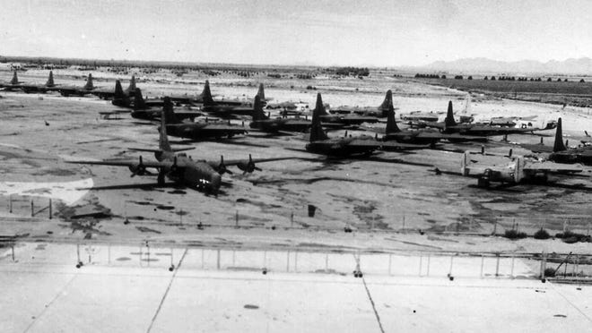 Litchfield Naval Air Facility was established in 1943 on the site of what is now the Phoenix/Goodyear Airport.