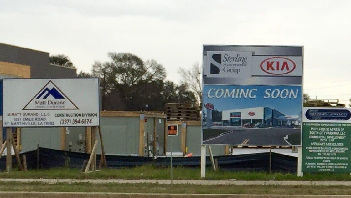 Progress On Kia Dealership Moving Along