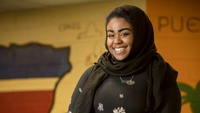 Shaheena Shahid, 24, is studying foreign language education and ESL at the Graduate School of Education, Rutgers University-New Brunswick.