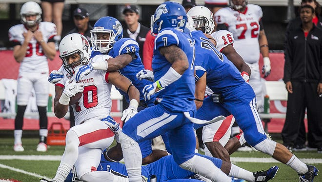 FILE -- Could Indiana State say goodbye to football?