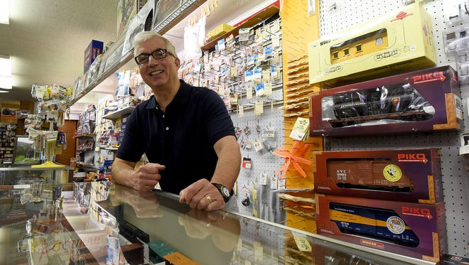 John Sutter is looking forward to retirement after a career as manager and later owner of John's Hobby Shop in downtown Mansfield.