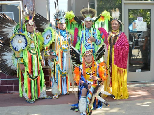 Members of the Winnemem Wintu were part of the Shasta County Historical Society's Indigenous People's Day celebration on Oct. 22, 2017.