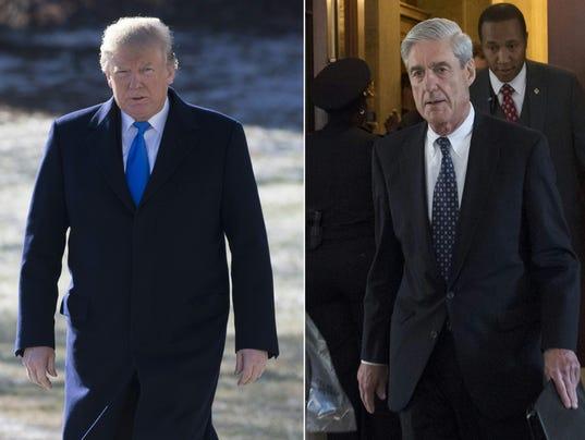 President Trump Robert Mueller