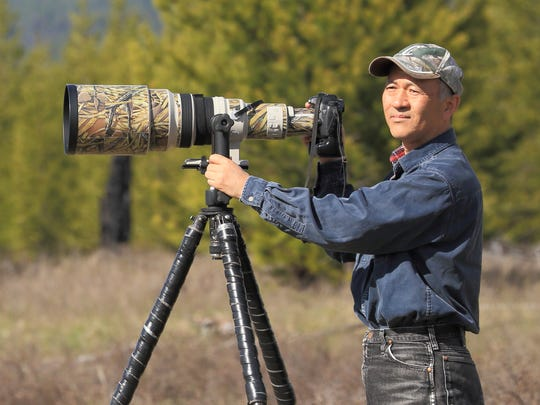 Outdoor photographer Sumio Harada moved his family