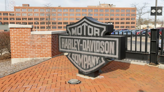 The Harley Davidson corporate office at 3700 W. Juneau Ave.