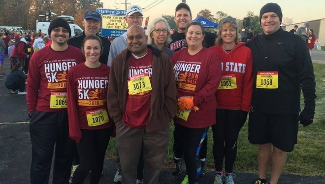Employees of Systems Evolution Inc. participated in the Fighting Hunger 5K.