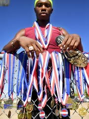 All-West Tennessee Boys' Track Athlete of the Year, Liberty Tech's Rodney Castille