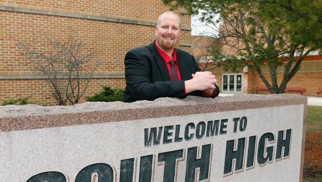 Sheboygan South Principal Mike Trimberger has earned several accolades in recent weeks.