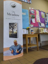 """Upcoming readings and signings of """"The Meadow"""" are"""
