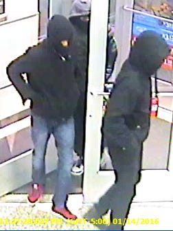 Dover police are searching for three suspects who robbed a Wawa at gunpoint Thursday.