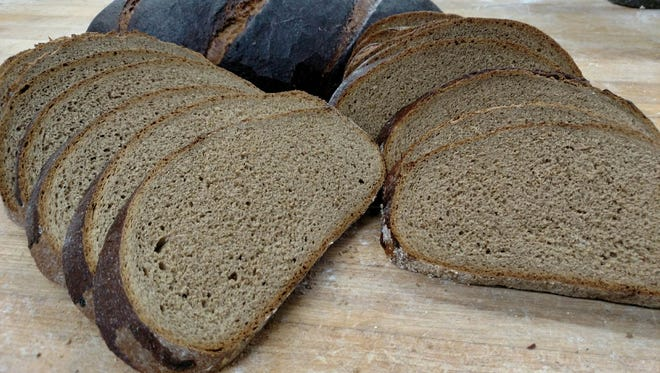 Cascade Baking Company is using Vagabond Brewery's Northwest Passage Stout Beer to make Stout Rye Bread.