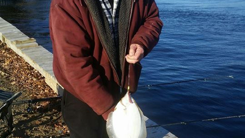 Flounder bass on toms river asbury park 39 s flea market for Fishing flea market nj